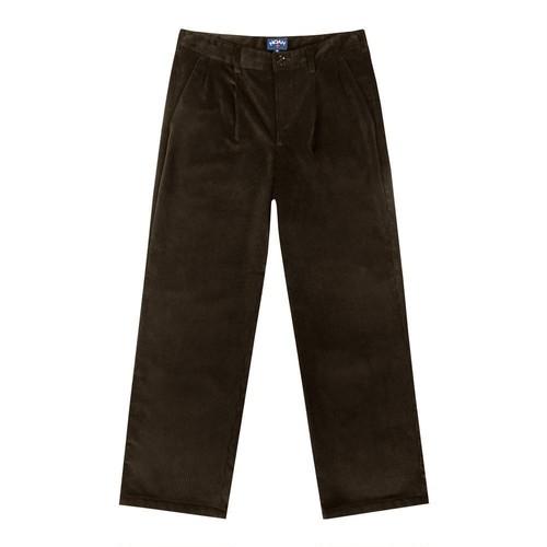 Double-Pleat Corduroy(Brown)