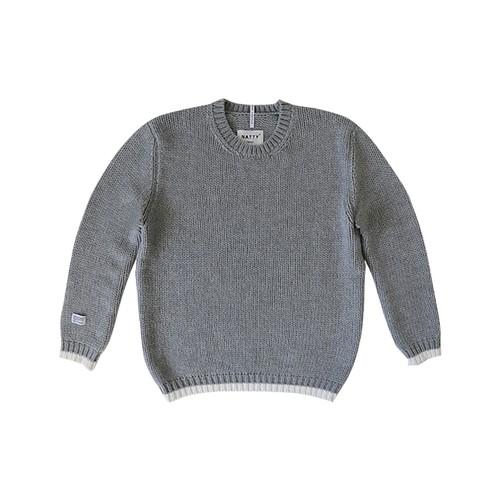 Discard Knit Hem Sweater
