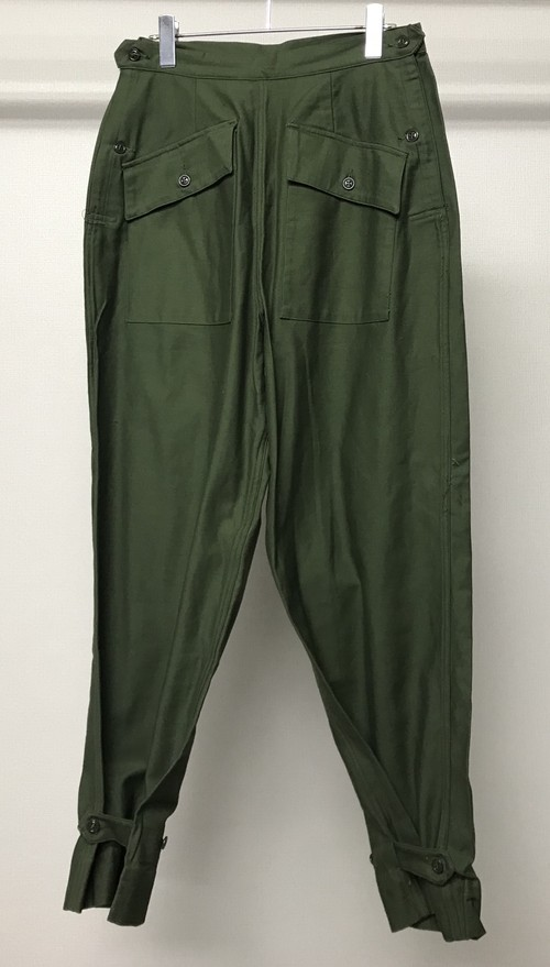 1950s US MILITARY CARGO PANTS