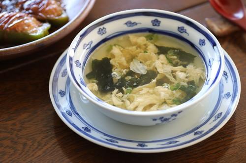 雲流梅小紋 スープ碗 作:井手國博・与志郎窯(有田焼)