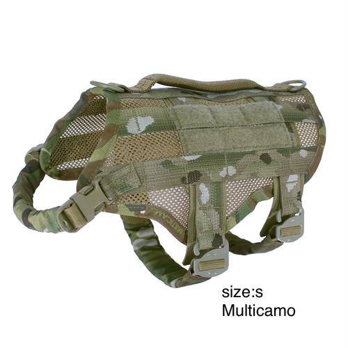 KILONINER (キロナイナー) Compact K9 Tactical MOLLE Dog Vest (ドッグベスト)  Sサイズ