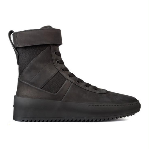 FEAR OF GOD / Military Sneaker BLACK TONAL