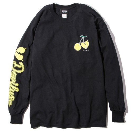 Deviluse(デビルユース) | Cherry L/S T-shirts(Black)