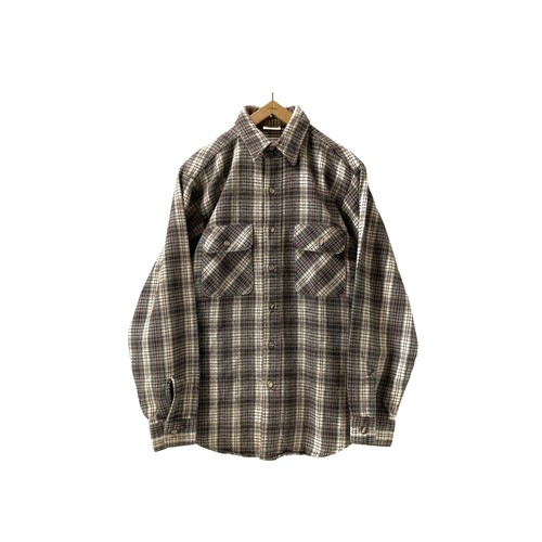 """90's """"FIVE BROTHER"""" HEAVY FLANNEL SHIRTS"""