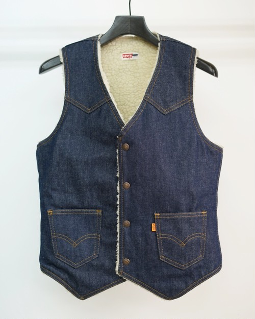 Levi's - Boa Vest Orange Tab Made in USA #60607