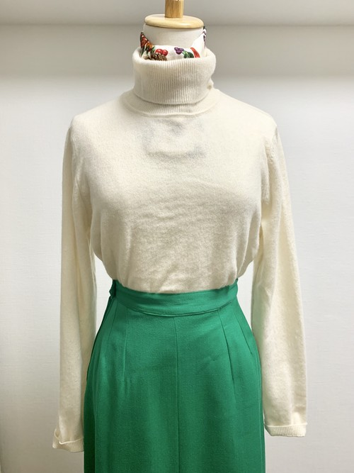 Old Cashmere Turtleneck Sweater