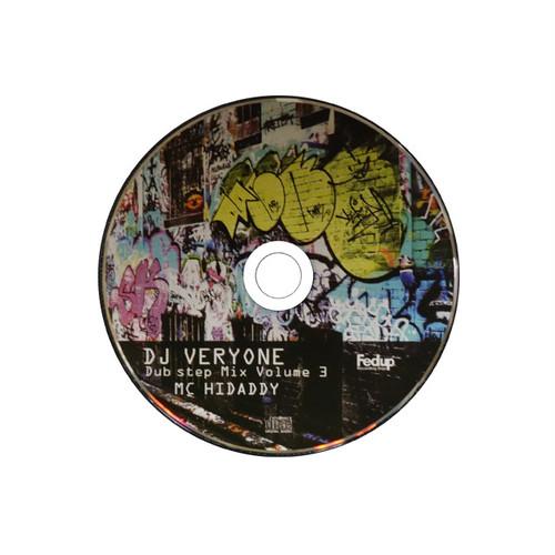 DJ VERYONE 「DUB STEP MIX VOL.3」CD