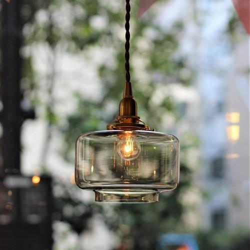 【照明】ガラスシェード シャンピニョンブラウン【2133】