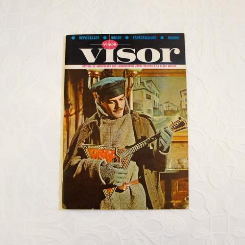 """1966年 スペイン 雑誌 """"VISOR"""" 4月号   [OB-9]"""