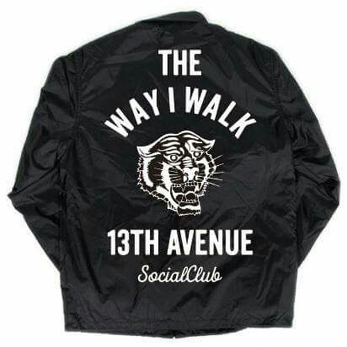 THE WAY I WALK CORCH JACKET col.blk