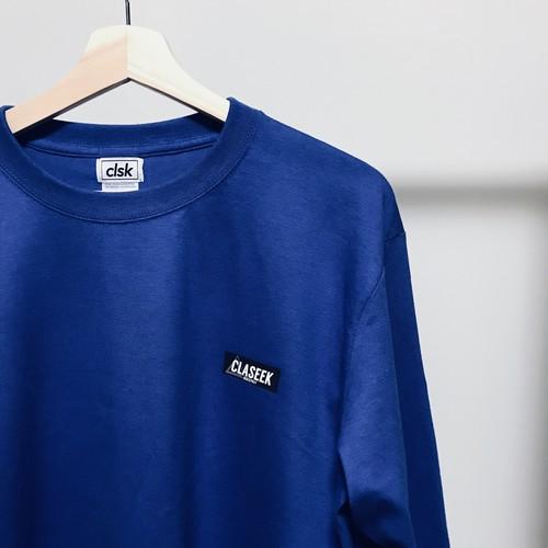 """マウンテンロゴ  ロングスリーブTシャツ""""BLUE"""" サイズL"""