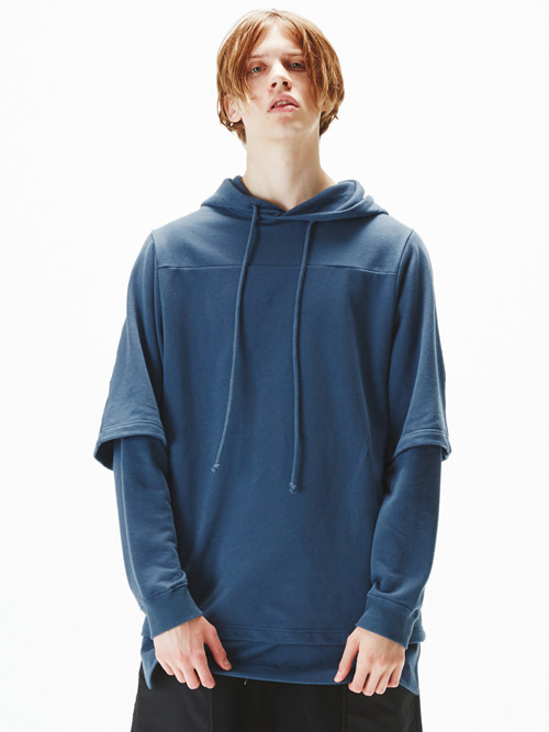 【WIZZARD】LAYERED HOODIE