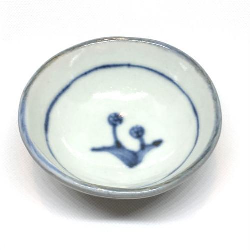 【砥部焼/佐藤窯】高台小鉢(たんぽぽ)