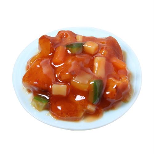 [0253]食品サンプル屋さんのマグネット(酢豚)