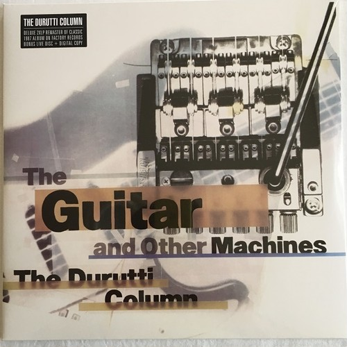 【新品・LP x 2・欧州盤】The Durutti Column / The Guitar And Other Machines (Deluxe Edition)