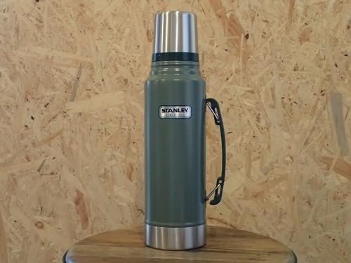 STANLEY(スタンレー) クラシック真空ボトル(水筒) 1L グリーン