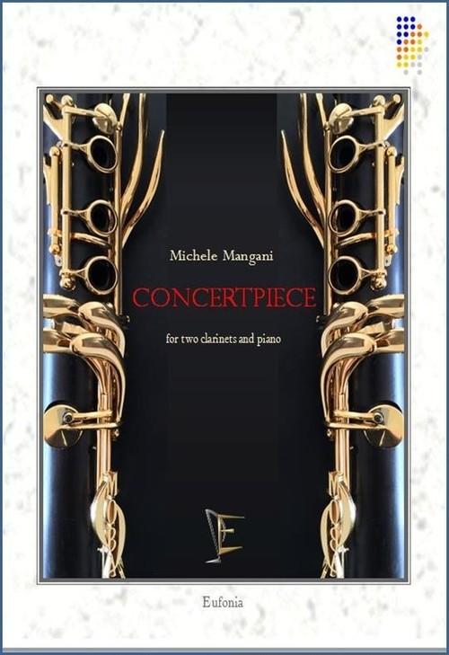 マンガーニ:演奏会用小品 / 2クラリネットとピアノ