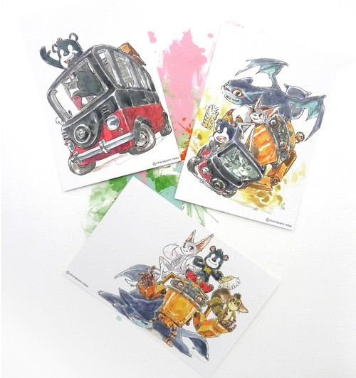 POST CARD SET-B