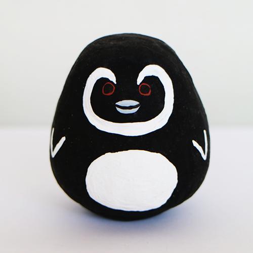 ペンギン起き上がりこぼし