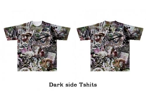 Dark side Tシャツ