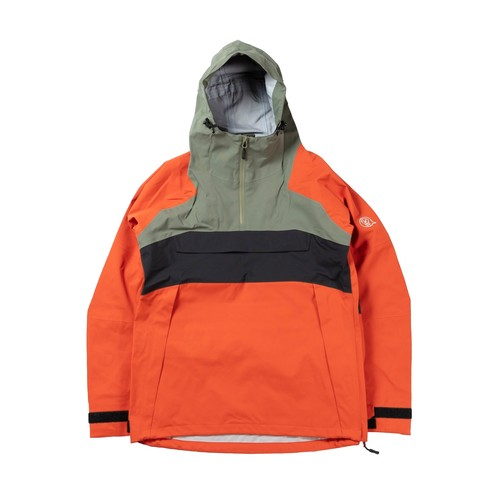 2021unfudge snow wear // SMOKE ANORAK // ORANGE