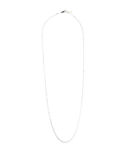 SILVER925 60cm VENETIAN CHAIN NECKLACE-SILVER[REA166]