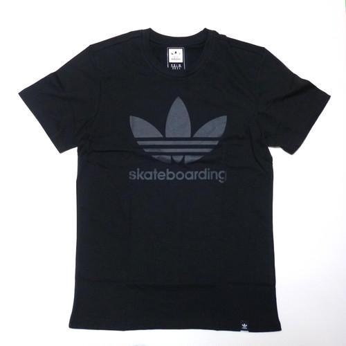 アディダス adidas SB トレフォイル Tシャツ ブラック