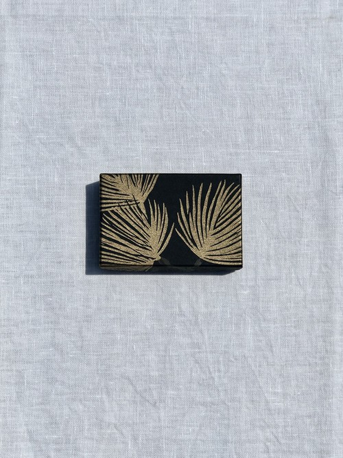 小箱<スウェーデンの紙/松|Pine-noir01>