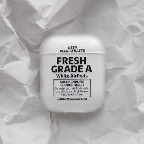 【t.e.a】Fresh / airpods 1/2 エアポッズ エアーポッズ 第1世代 第2世代 ケース カバー 韓国雑貨