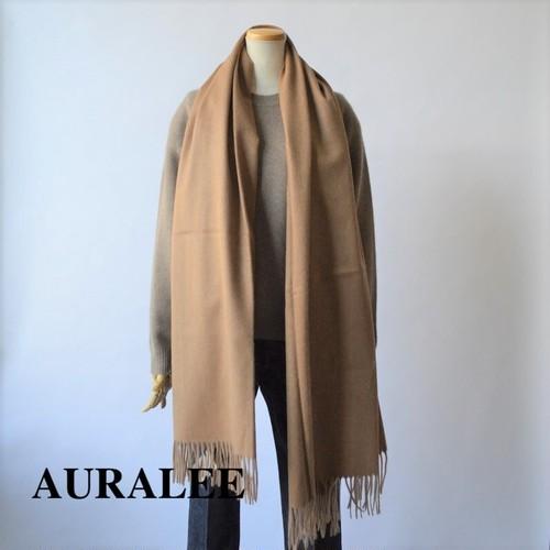 AURALEE/オーラリー ・BABY CAMEL HAIR WIDE STOLE