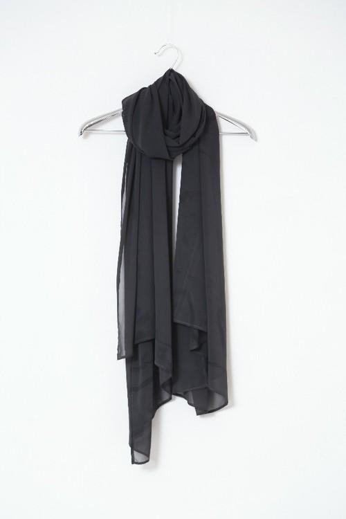 「糸」103-x.x   stole #charcoal