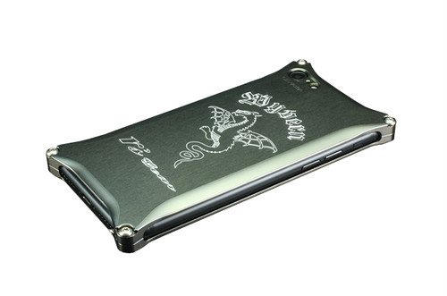 iPhone 7用 ワイバン スマートフォンケース プラチナブラック[XXSP-0004-PB]
