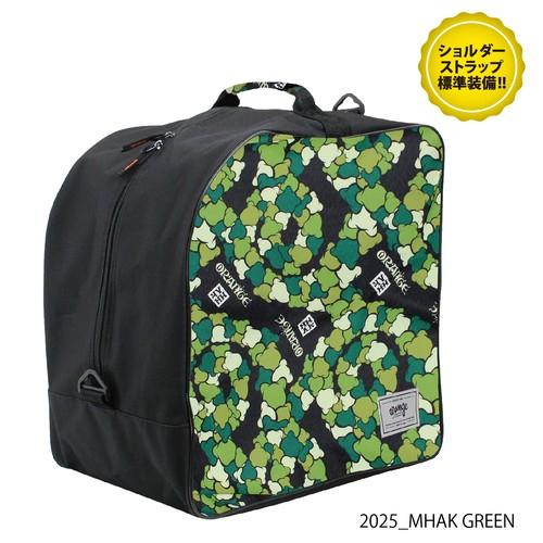#040122_Deluxe boots bag_2025_MHAK GREEN