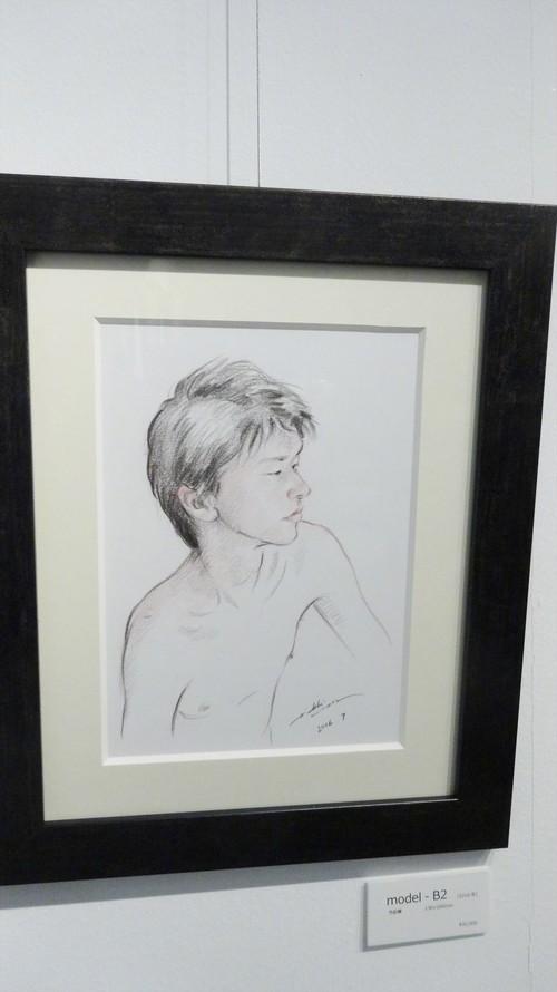 絵画「model‐B2」(2016年)