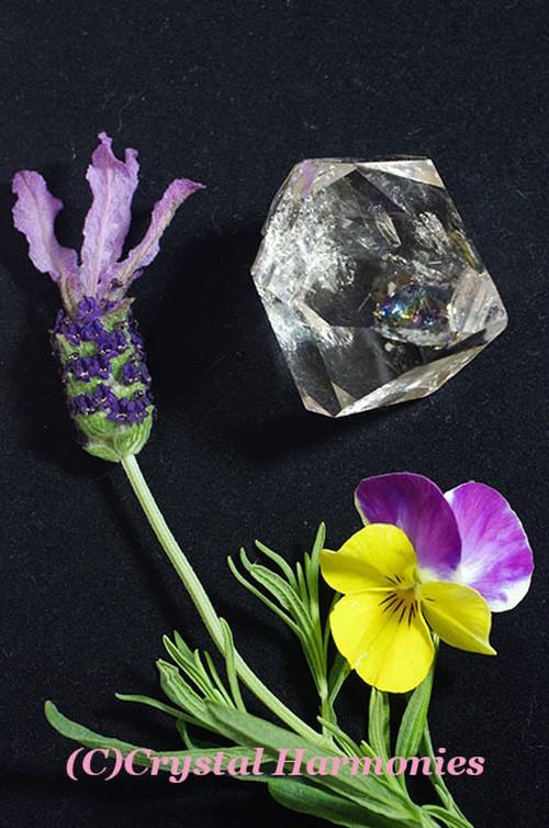最高のチャクラの石☆ハーキーマーダイヤモンド No.8