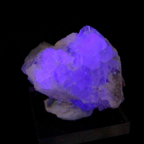 蛍石 フローライト クォーツ コロラド州産 原石 24,7g FL181 鉱物 天然石 パワーストーン