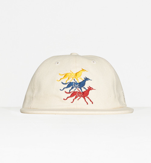 by Parra - 6 panel hat horse club (Natural)