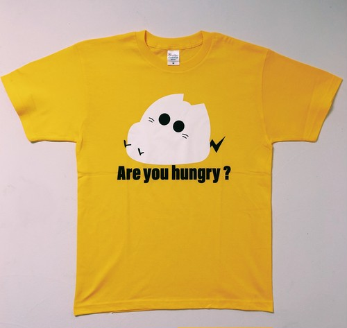『Are you hungry?』Tシャツ