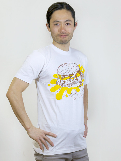 Hamburger T-shirt White