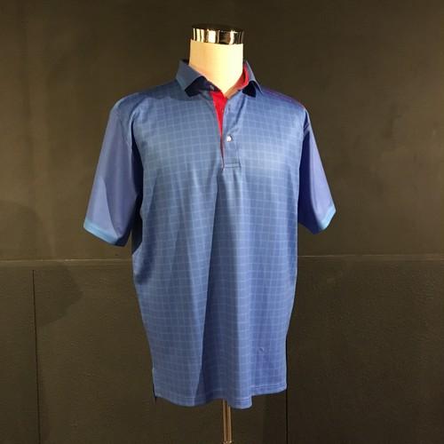 ゴルフポロ(standard ブルー)