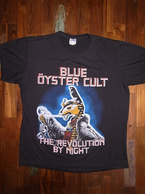 BLUE OYSTER CULT 1983-1984 TOUR T-SHIRTS