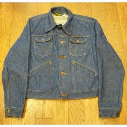 Wrangler 70年代製 126MJ (38) メンズ デニムジャケット ★送料無料 !!