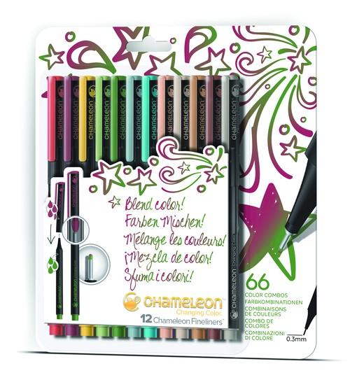 Chameleon Blendwriters 12 pack Designer Colors (カメレオンブレンドライター 12本入りデザイナーセット)