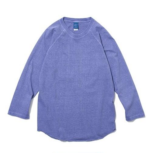 Good On / グッドオン | BASEBALL TEE - 7分袖Tee / P-L.Purple:Pigment Dye