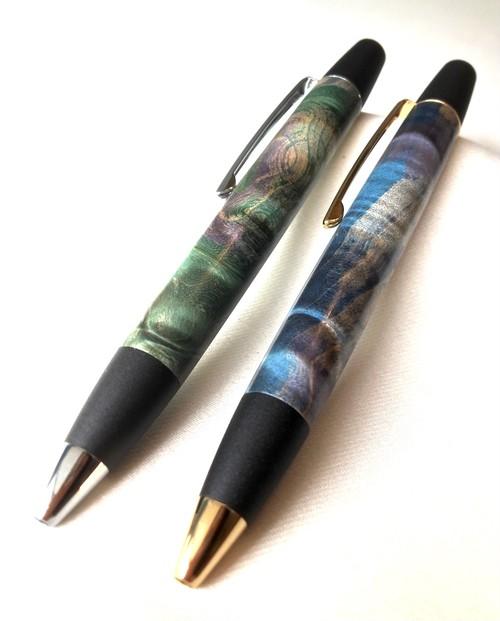 木のボールペン(ロータリータイプ  スタビライズドウッド)
