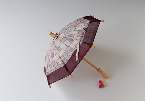ミニ日傘(モザイク柄)
