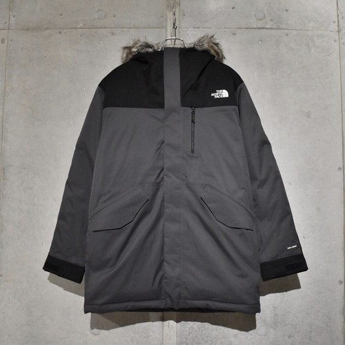 THE NORTH FACE BEDFORD DOWN PARKA / ASPHALT GRAY