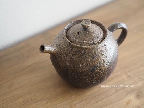 Wood Fired Bizen Handmade Japanese Teapot, Kiko Ando