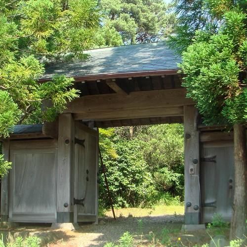 幕末期総欅造屋敷門