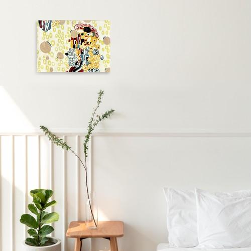 素敵なアートパネル A4サイズ テキスタイルデザイン グスタフ・クリムト